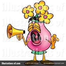 Clipart Vase Of Flowers Vase Of Flowers Clipart 9257 Illustration By Toons4biz