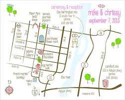 Chicago Metra Map by Hand Drawn Wedding Maps U2014 Custom Map Design By Snappymap