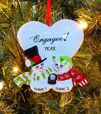 engagement ornament ebay