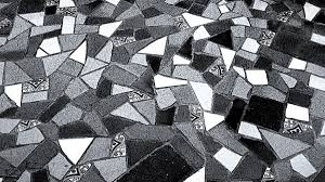 Black And White Ceramic Floor Tile Free Images Light Abstract Black And White Night Wall Line