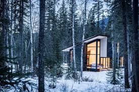 get back to basics by staying at one of these modern cabins dwell