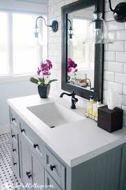 White Bathroom Ideas Pinterest by Best 25 Bathroom Countertops Ideas On Pinterest White Bathroom
