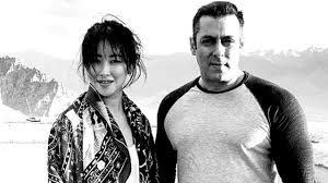 chinese actress zhu zhu wraps salman khan u0027s u0027tubelight u0027 shoot
