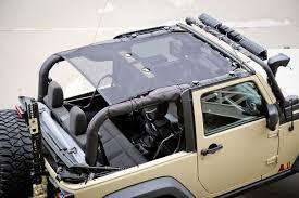 black jeep wrangler buy eclipse sun shade black 07 16 jeep wrangler jk jku at