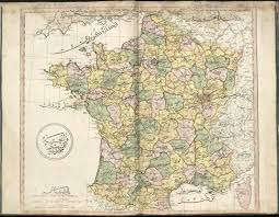 Maps France by Ottoman Map Of The French Republic 1803 Map France