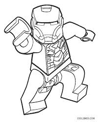 coloring page iron coloring pages lego man page iron coloring