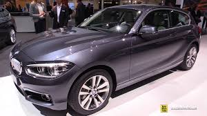 bmw 1 series x drive 2016 bmw 1 series 120d xdrive exterior and interior walkaround
