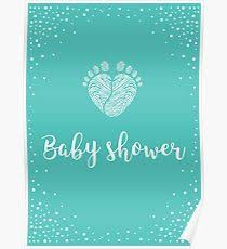 baby shower posters redbubble