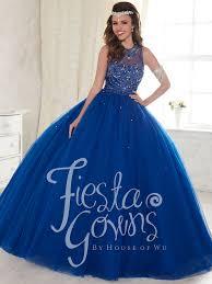 blue quinceanera dresses 56297 illusion neckline gown dress dressprom net