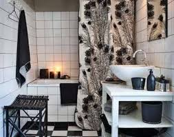 black white and bathroom decorating ideas amazing black and white tile bathroom decorating ideas pictures of
