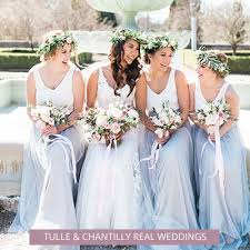 bridal party dresses bridesmaid dresses and gift ideas tulle chantilly