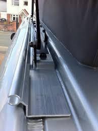 Aluminium Awning Rail Lh Side Awning Rail No Drilling Vw T4 Forum Vw T5 Forum