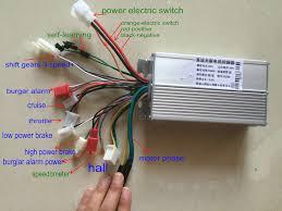 36v48v60v64v 500w600w bldc motor controller 12 mosfet universal