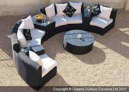 semi circle outdoor couch unthinkable patio sectional sofa set in