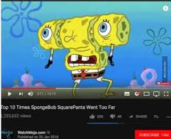 Spongebob Internet Meme - top 10 times spongebob squarepants went too far bikini bottom