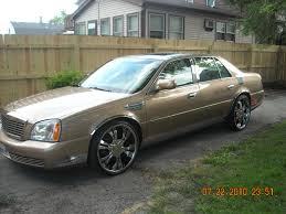 cadillac deville on 22 inch rims on cadillac images tractor