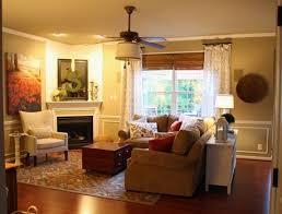 Best Corner Fireplace Arrangements Images On Pinterest Corner - Furniture placement living room with corner fireplace