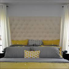 bedroom amazing gray tufted headboard custom fabric headboard