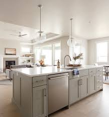 what wall color looks with grey cabinets neutral home with grey cabinets home bunch interior design