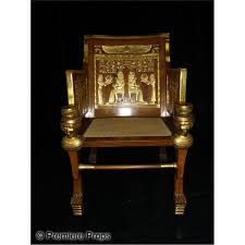 Egyptian Chair The Ten Commandments 1956 Egyptian Royal Chair