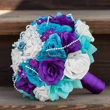 purple and turquoise wedding purple and turquoise wedding flowers wedding corners