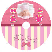 baby shower party dvd template vol 5 by owpictures graphicriver