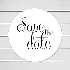 save the date stickers save the date envelope seals