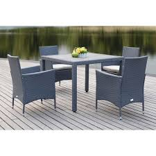 Outdoor Dining Room Furniture Frazier 5 Piece Outdoor Dining Set West Elm