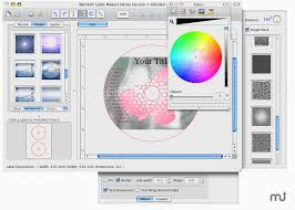 cd label designer iwinsoft cd label maker for mac free macupdate