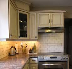 rona brown kitchen cabinets my s fresh new backsplash before after