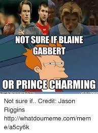 Blaine Gabbert Meme - not sure if blaine gabbert or princecharming brought by