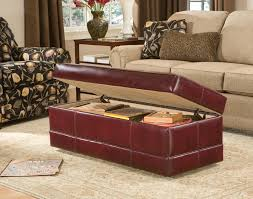 Leather Ottoman Storage Smith Brothers Of Berne Inc U003e Catalog