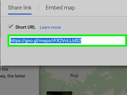 Goo Map How To Shorten Google Maps Urls 4 Steps With Pictures Wikihow