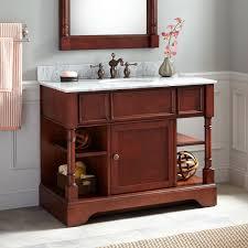 Cherry Bathroom Vanity Cabinets Cherry Bathroom Vanity Otbsiu Com