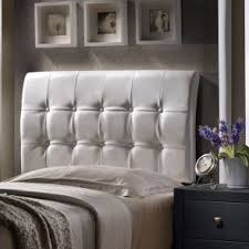 hillsdale furniture duggan fabric upholstered headboard with bed