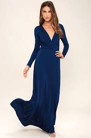 maxi dresses with sleeves lovely navy blue dress maxi dress sleeve dress 64 00