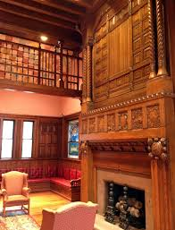 file thomas crane library fireplace in richardson room jpg