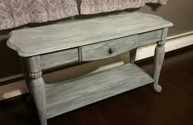 Driftwood Sofa Table by Sofa Table General Finishes 2017 Design Challenge