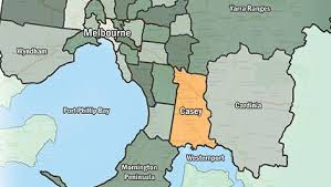 Councils Of Melbourne Map Maps City Of Casey