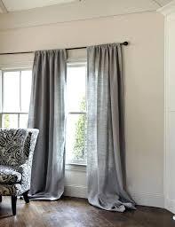 Striped Linen Curtains Blue Linen Curtains U2013 Teawing Co