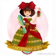 classic christmas belles corfee illustration