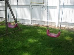 grandchildren and swings newenglandgardenandthread