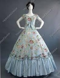 Belle Halloween Costume Victorian Belle Princess Alice Wonderland Gown Theater