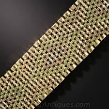gold mesh bracelet images 18k tri color gold mesh bracelet jpg
