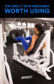 the only 7 gym machines worth using gym machines gym and weight