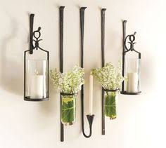 Flameless Candle Wall Sconce Set 2 Set Of 2 Ivory Led Flameless Candle Wall Sconces Living Room