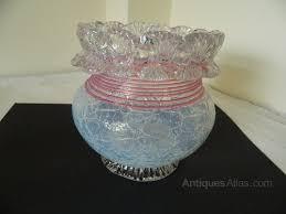 Victorian Glass Vase Antiques Atlas Victorian Crackle Glass Vase