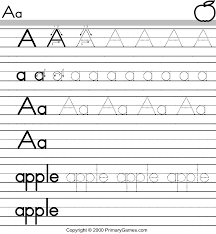 Free Printable Worksheets Abc Activity Pages Primarygames Com Free Printable Worksheets