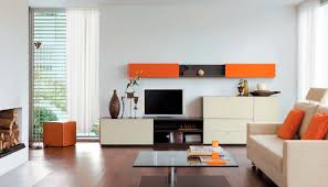 Tv Wall Units Contemporary Tv Wall Unit Lacquered Wood Walnut Glass Cult