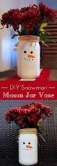 snowman mason jar vase mason jar vases
